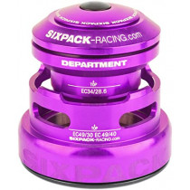 SIXPACK-RACING Headset DEPARTMENT-R Tapered Anod Purple (811434)
