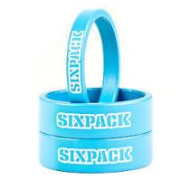 SIXPACK-RACING Kit Spacers Azur Blue (991011)