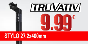 TRUVATIV Seatpost STYLO 27.2x400mm Black (120099)